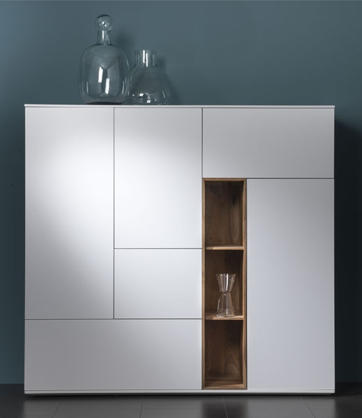 Combinatie P500 Interstar kast kastopmaat wandmeubel televisiemeubel design modern vanderlindeinterieur