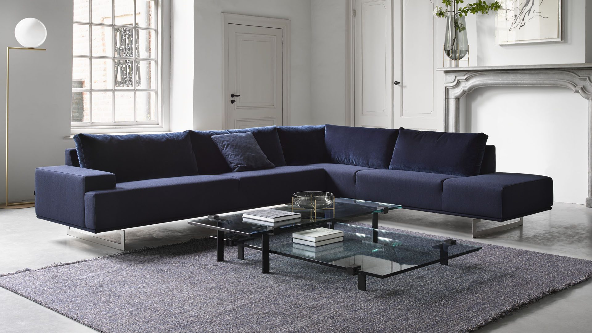 Gelderland 7881 Embrace Soft 7920 T Table set HR hoekbank bank lounge zitbank elementen vanderlindeinterieur