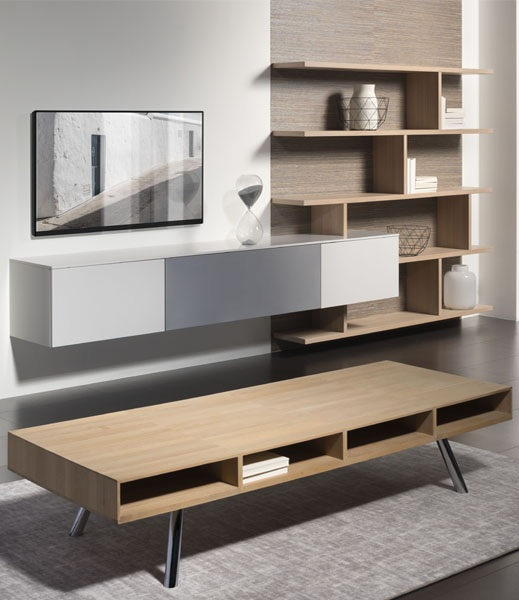 Combinatie 217 04 Interstar kast kastopmaat wandmeubel televisiemeubel design modern vanderlindeinterieur